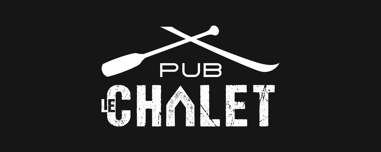 Pub Le Chalet identité visuelle