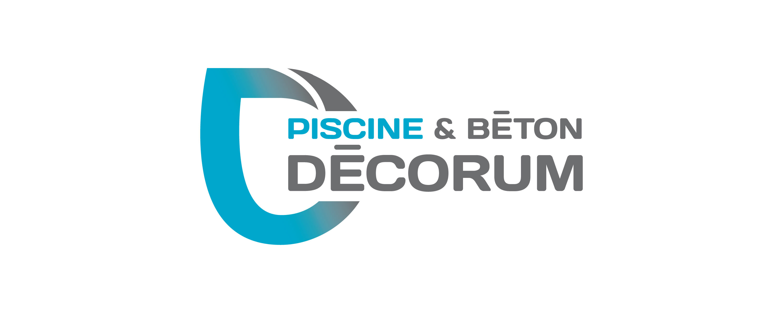 Piscine et Béton Décorum identité visuelle