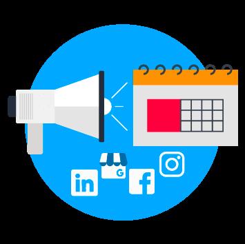 Création de plan de publication pour votre site et vos réseaux sociaux