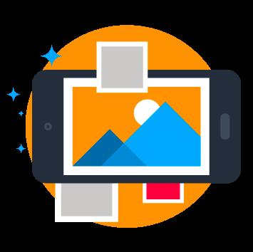 Photographies et illustrations pour imager vos produits ou services