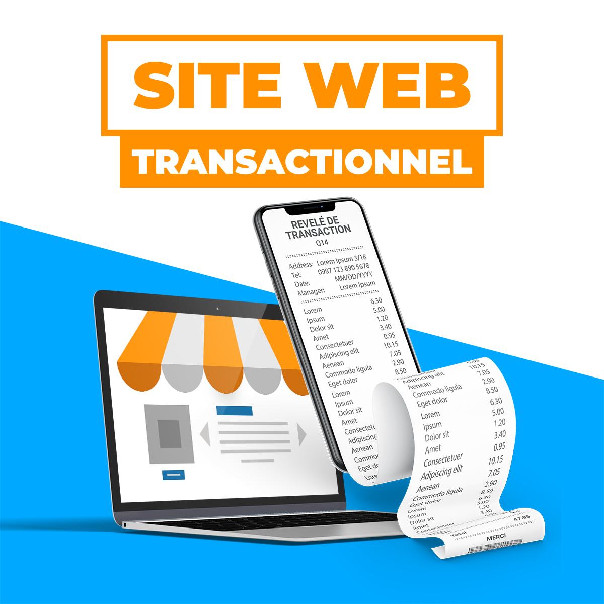 Site Web transactionnel
