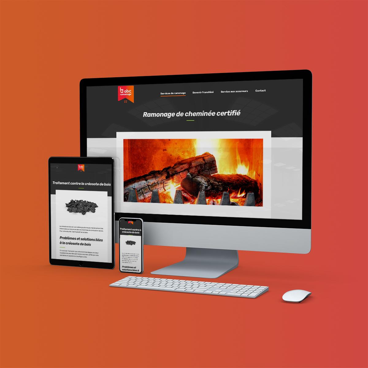 Refonte Web pour ABC Ramonage